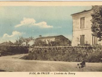 L'entrée sud du-bourg